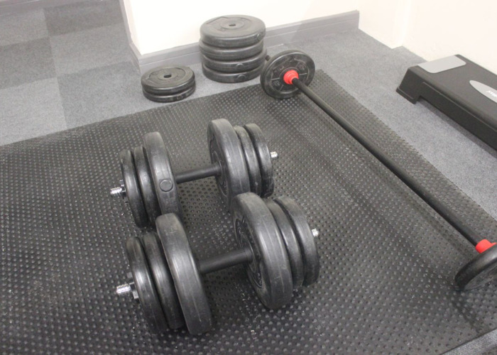 70KG Dumbbells and Barbell Weights Set - 1