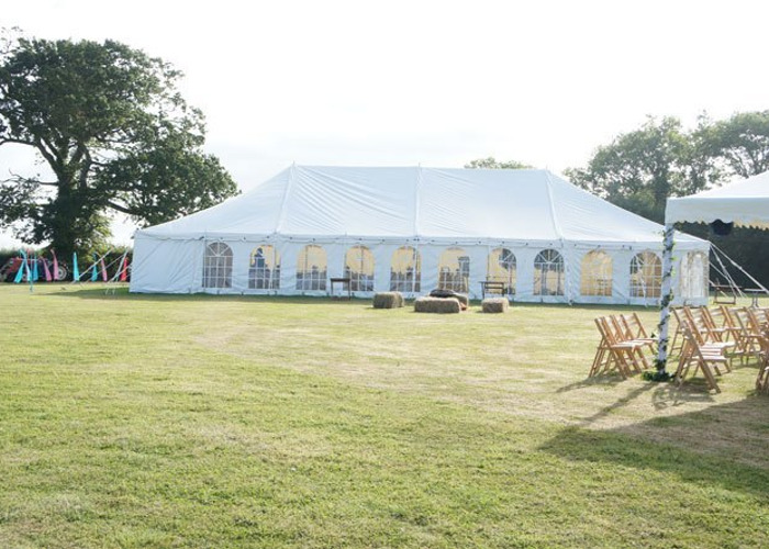 75ft x 30ft Wedding Marquee - 1