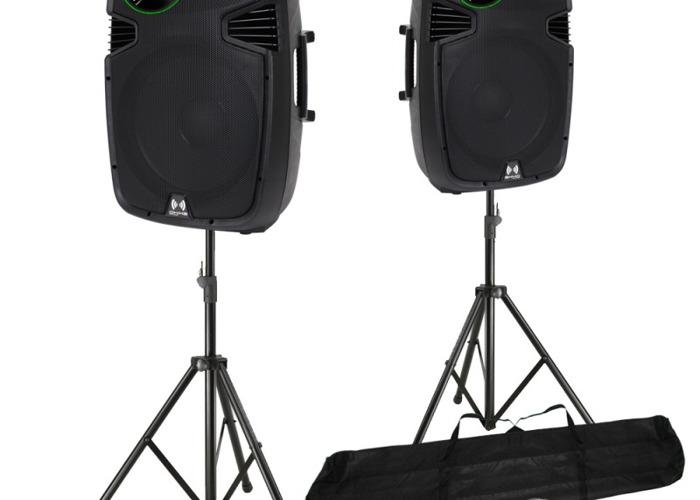 800W Active Speakers  - 1