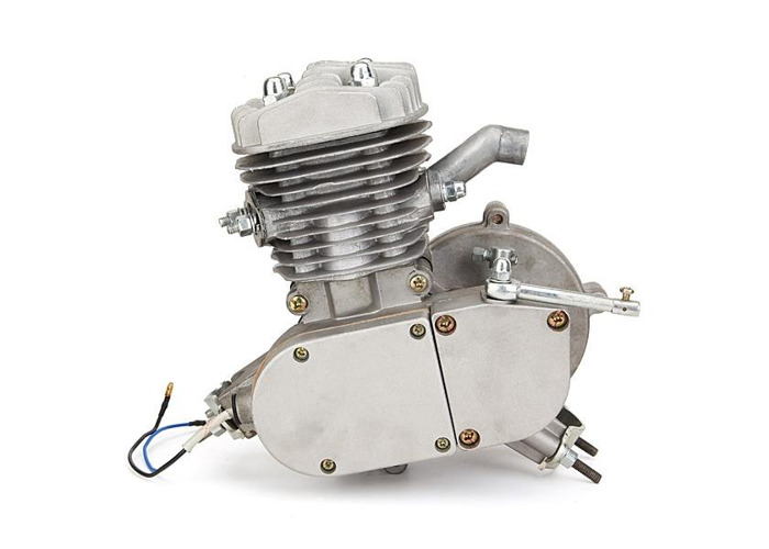 80cc 2 Cycle Motorcycle Muffler Motorized Bike Engine Accessories Set - 2