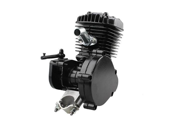 80cc 2-Stroke Cycle Motorized Bike Black Body Engine Motor Kit - 2