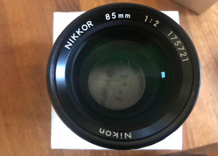 85mm f2 Nikon AI Manual lens - 2