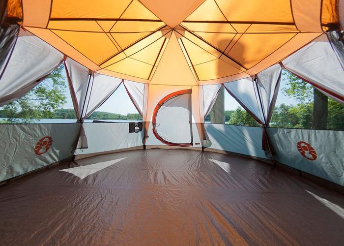 8-man Octagon Coleman Tent - 2