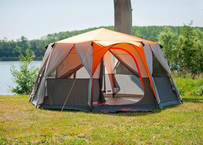 8-man Octagon Coleman Tent - 1