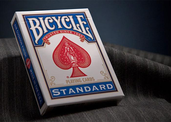 8x Genuine Bicycle Standard Rider Back Playing Cards Poker Casino Decks Poker •[Red]•[Blue]• - 2