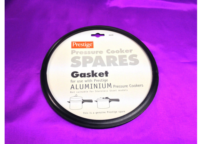 Buy 96430 Aluminium Prestige Pressure Cooker Black Gasket