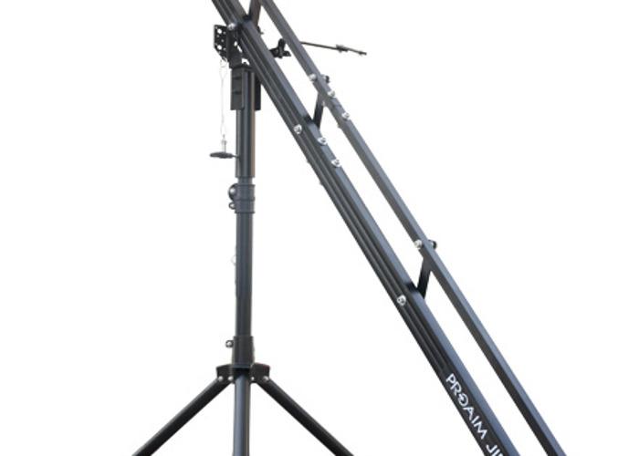 9ft Pro Aim Camera Crane and Tripod Stand - 1