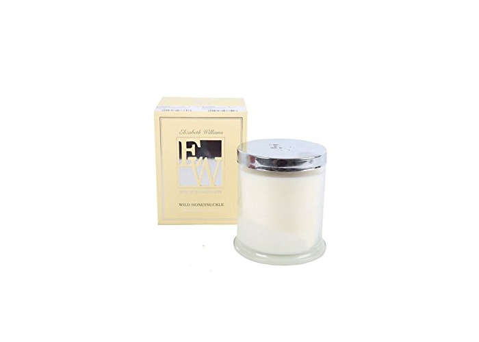 9X10 WAX FILLED CANDLE IN GLASS POT WILD HONEYSUCKLE FRAGRANCE - 1