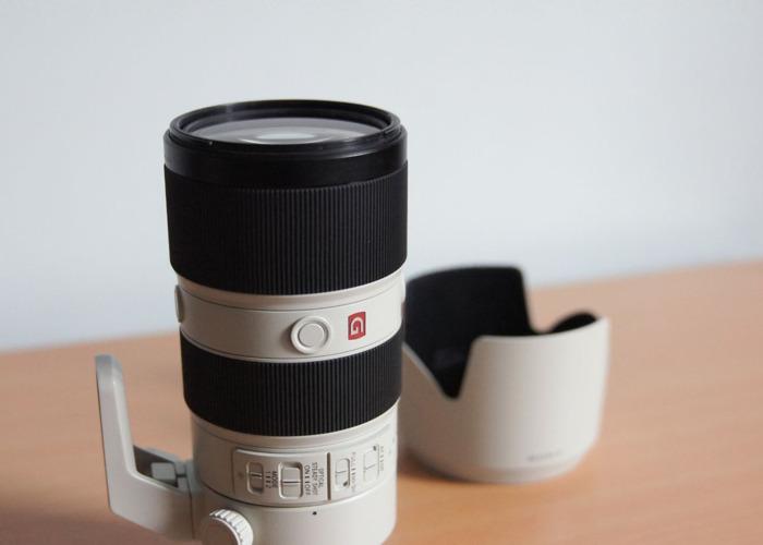 A   Sony FE 70-200mm F2.8 G Master Zoom Lens (Sony 70 200 GM) - 2