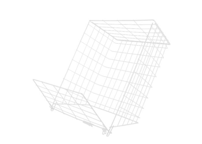 A. HARVEY 62M Medium Letter Cage - WH - 1