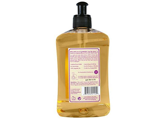 A La Maison de Provence, Hand & Body Soap, Rose Lilac, 16.9 fl oz (500 ml) - 2