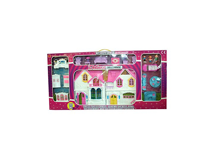 A to Z 31062 My Happy Family Deluxe Dolls House - 1