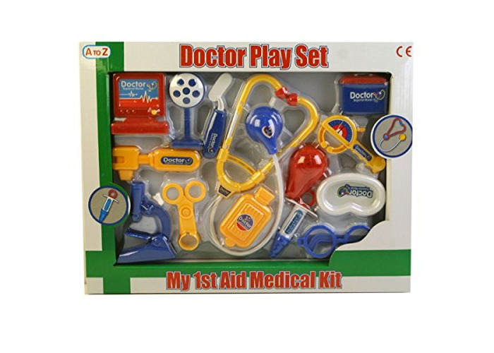 A to Z 37615 Doctor Playset, Multi - 2