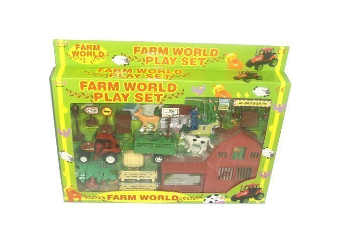 A to Z 7057 Farmyard Playset, Various - 1