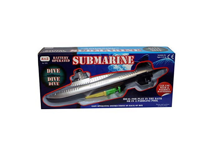 A to Z 7679 Submarine, Blue - 1