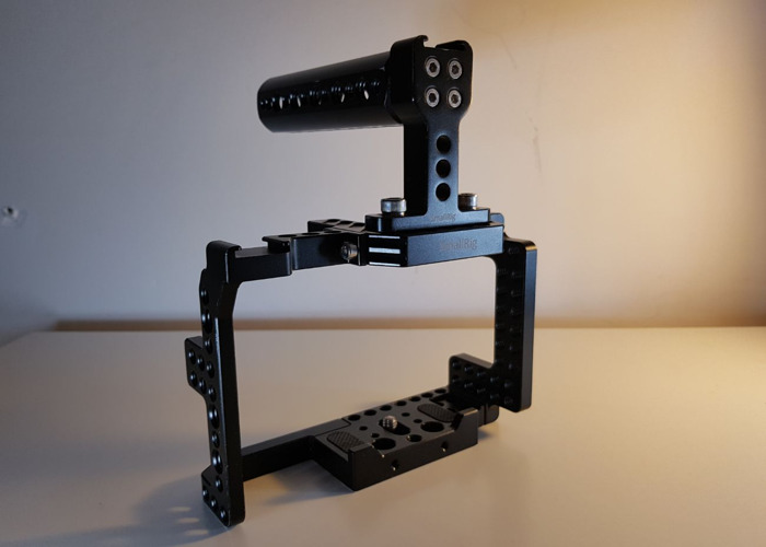 A7s / A7sii Cage by Small rig with Handlebar - 1