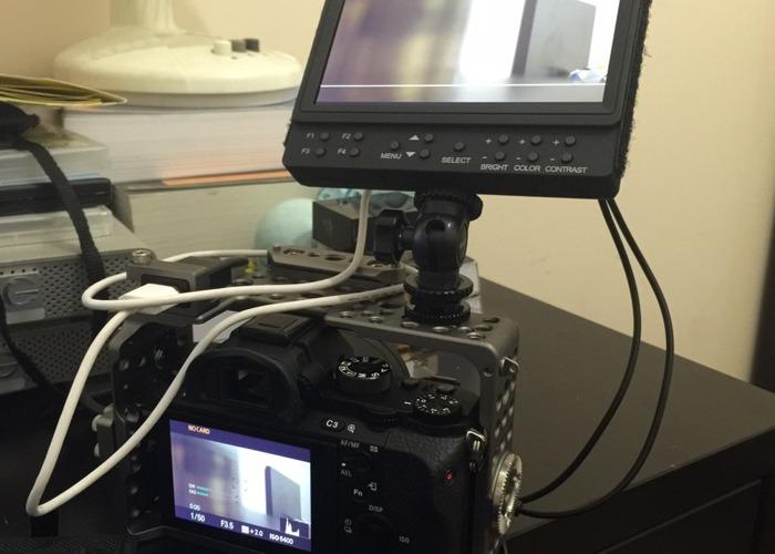 Sony A7s ii, Samyang Prime Lenses. Se inclina la jaula - 1