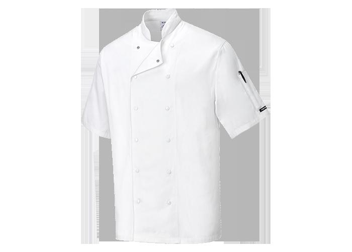 Aberdeen Chef Jacket  White  Medium  R - 1