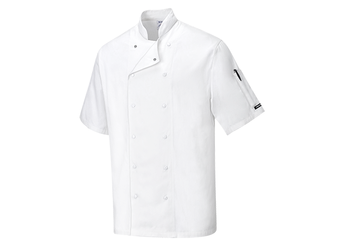 Aberdeen Chef Jacket  White  XSmall  R - 1