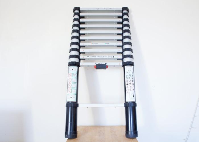 Abru Telescopic Ladder / 1m - 3.2m / 10kg / 10 rung - 1