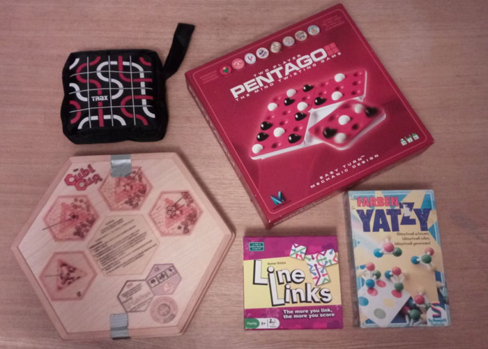 Abstract strategy pack (5 board games) - 1