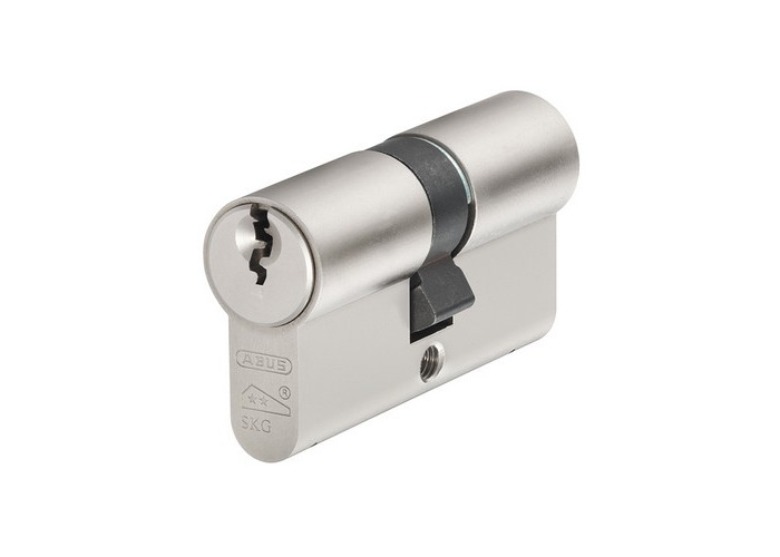 ABUS E60N3545C E60NP Euro Double Cylinder Nickel Pearl 35mm / 45mm - 1