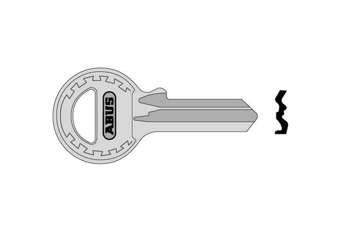 ABUS KB12022 65/40+45 70/45 New Key Blank - 1