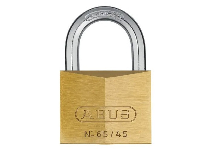 ABUS Mechanical 65/45mm Brass Padlock Keyed Alike 456 - 1