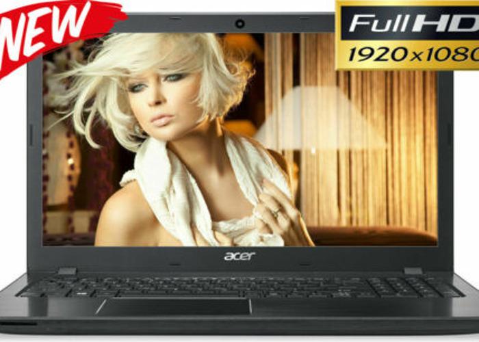 ACER 15.6 inch Full-HD Laptop AMD 3.60GHz 8GB Ram 1TB HD Web - 1