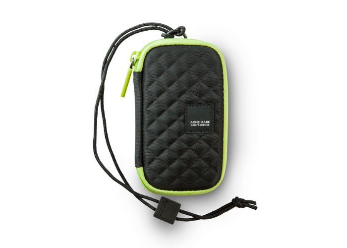 Acme Made Fillmore Hard Case for Camera/ipod - Licorice - Lime - 1