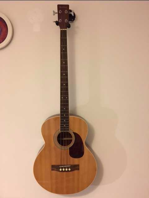 Acoustic / Electric Bass Guitar - 1