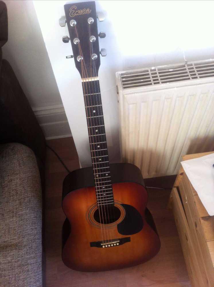 Acoustic Guitar Encore Steel String - 2