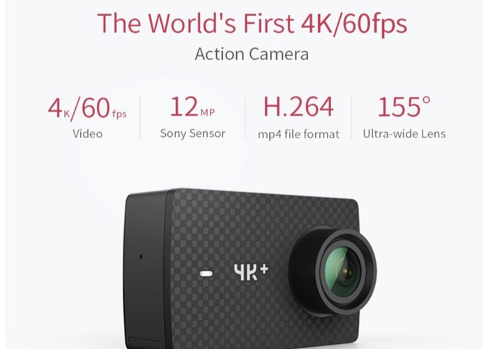 action cam Yi 4k plus - 2