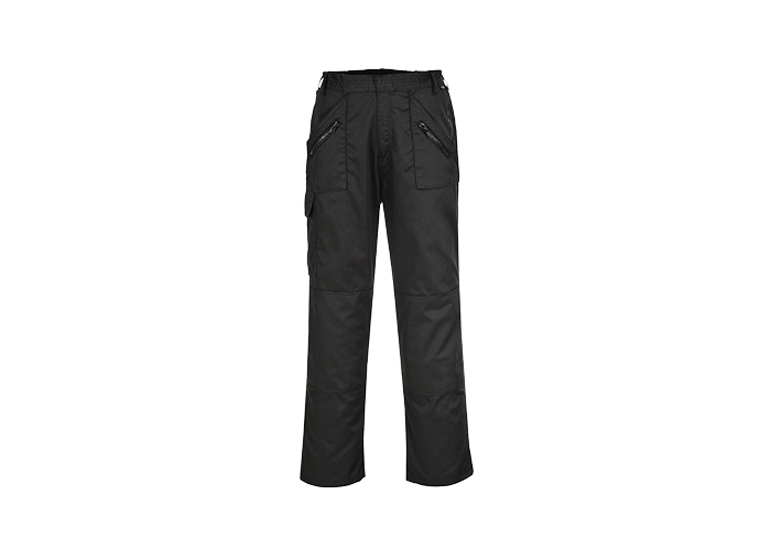 Action Trousers  Black  Large  R - 1