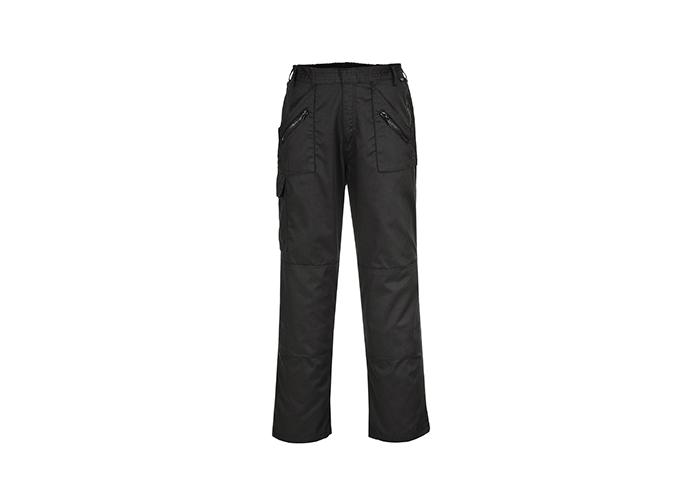 Action Trousers  Black  XXL  R - 1