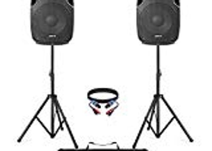Active 1200w Speakers  - 1
