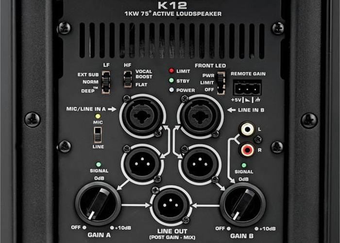 ACTIVE QSC K12 SPEAKERS  - 2