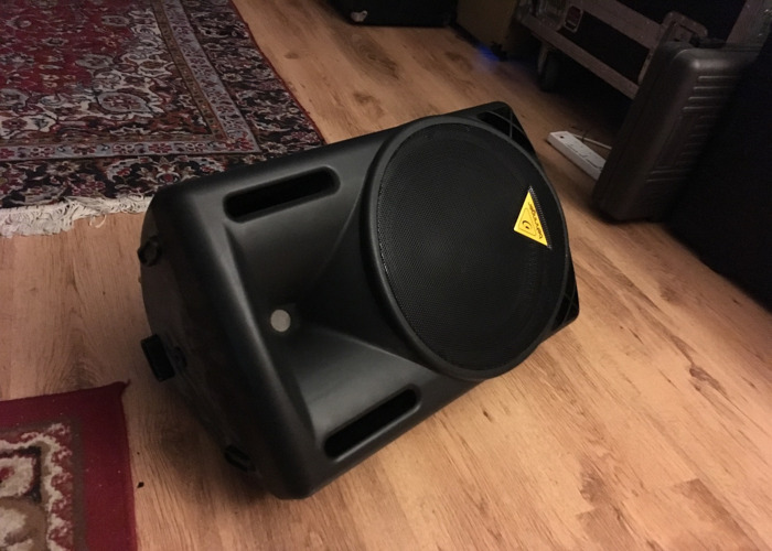Active Speaker Wedge Monitor - 1