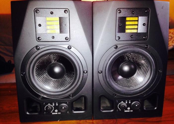 Adam A5X studio monitors  - 1