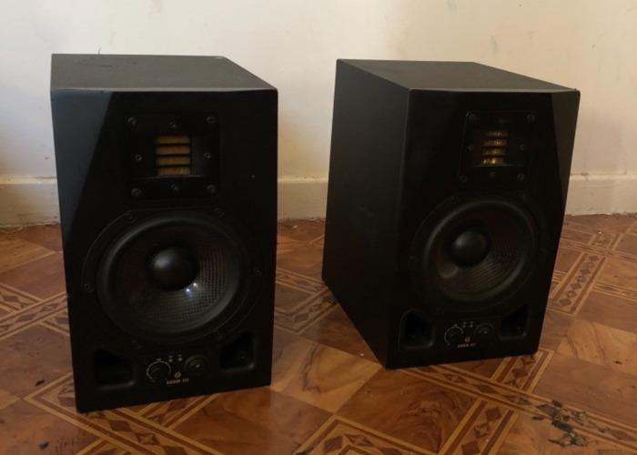 Adam A5X studio monitors  - 2