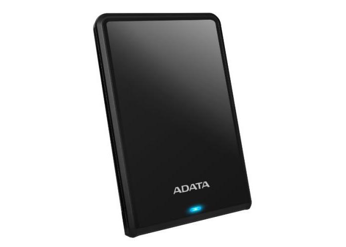 "ADATA 2TB HV620S Slim External Hard Drive, 2.5"", USB 3.1, 11.5mm Thick, Black - 1"