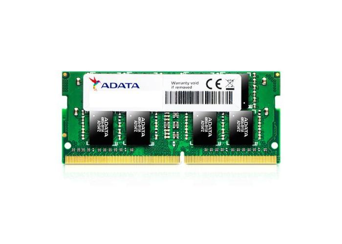 ADATA Premier 8GB, DDR4, 2400MHz (PC4-19200), CL17, SODIMM Memory, 1024x8 - 1