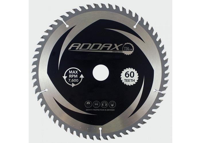 Addax C2503060 TCT Circular Saw Blade 250 x 30 x 60T  - 1