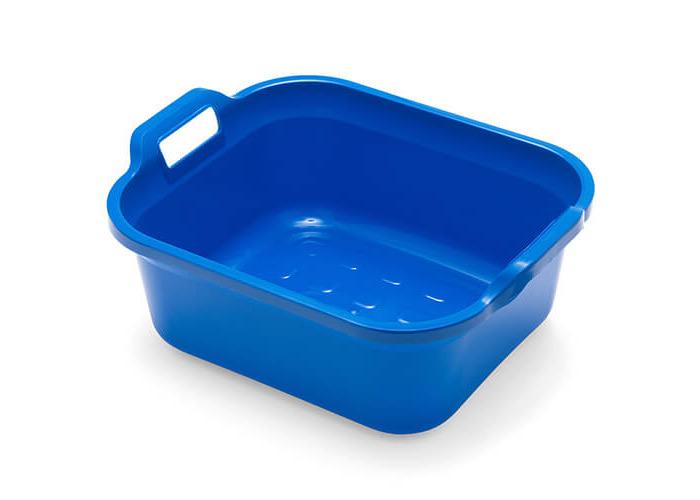 Addis 10 Litre Twin Handled Washing Up Bowl Cobalt Blue - 1