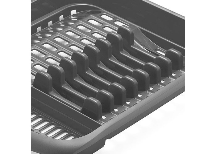 Addis 2015 Plate Rack, Metallic Grey - 2