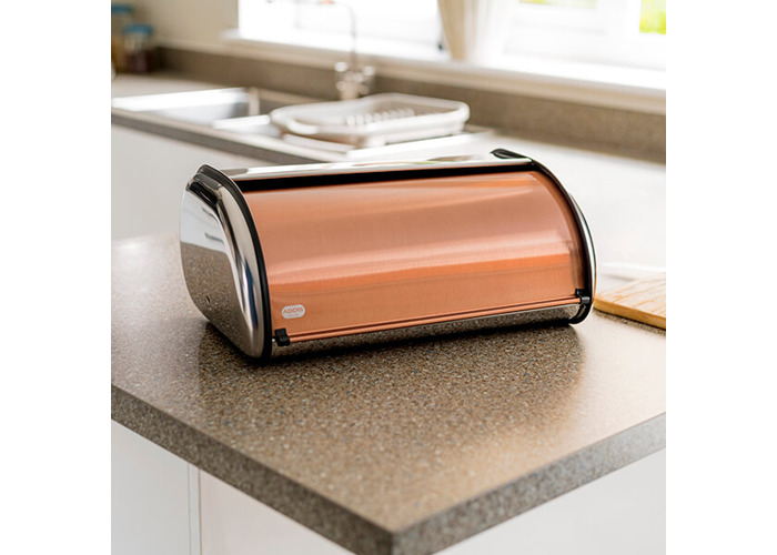 Addis Copper Bread Bin - 2