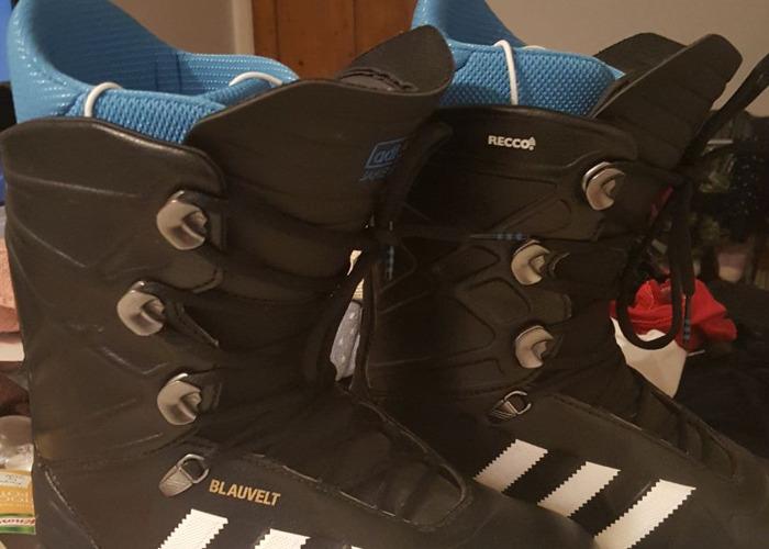 Adidas Blauvelt Snowboard Boots - Size 8 - 1