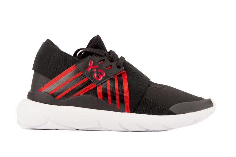 Adidas Y-3 Qasa Elle Lace, Black/Red Yohji Yamamoto (Sizes 5,6 U.K.) - 1