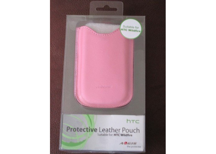 Aegis htc protective leather pouch htc - 1