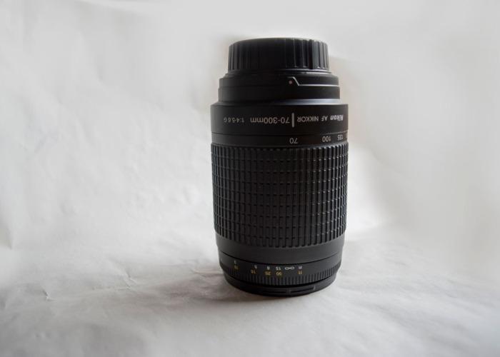 AF Zoom-Nikkor 70-300mm f/4-5.6G - 2